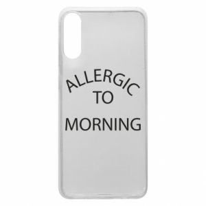 Etui na Samsung A70 Allergic to morning