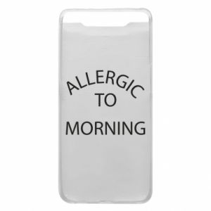 Etui na Samsung A80 Allergic to morning