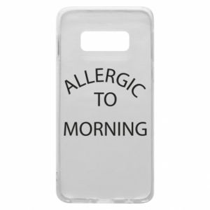 Etui na Samsung S10e Allergic to morning