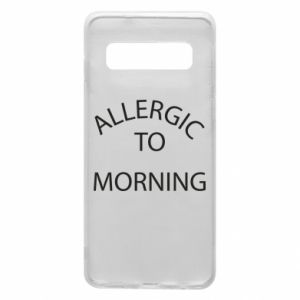 Etui na Samsung S10 Allergic to morning