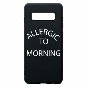 Etui na Samsung S10+ Allergic to morning