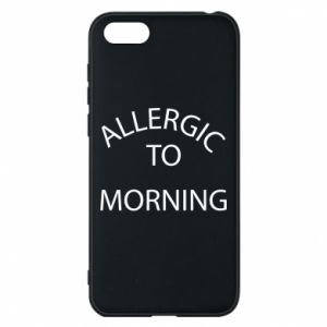 Etui na Huawei Y5 2018 Allergic to morning
