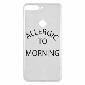 Etui na Huawei Y7 Prime 2018 Allergic to morning