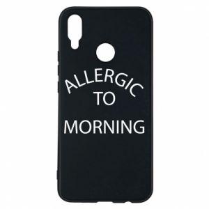 Etui na Huawei P Smart Plus Allergic to morning