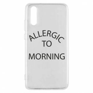 Etui na Huawei P20 Allergic to morning