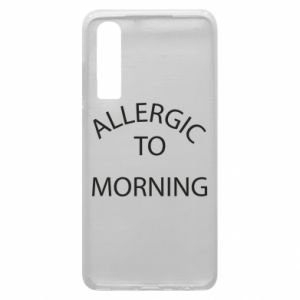 Etui na Huawei P30 Allergic to morning