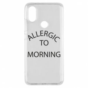 Etui na Xiaomi Mi A2 Allergic to morning