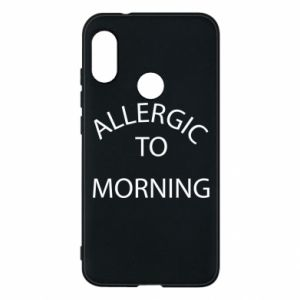 Etui na Mi A2 Lite Allergic to morning