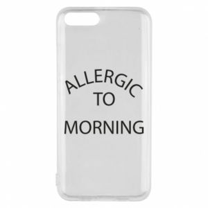 Etui na Xiaomi Mi6 Allergic to morning