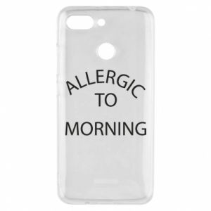 Etui na Xiaomi Redmi 6 Allergic to morning
