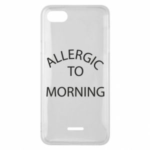 Etui na Xiaomi Redmi 6A Allergic to morning