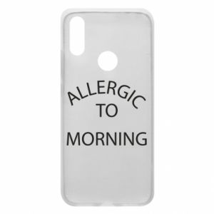 Etui na Xiaomi Redmi 7 Allergic to morning