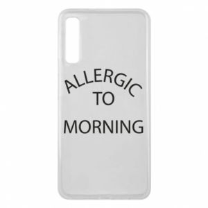 Etui na Samsung A7 2018 Allergic to morning