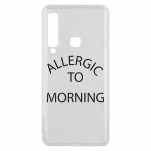 Etui na Samsung A9 2018 Allergic to morning