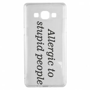 Samsung A5 2015 Case Allergik to stupid people