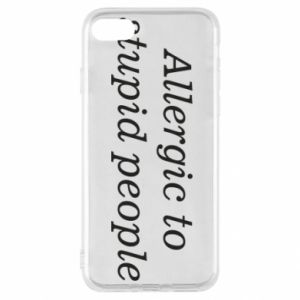 Etui na iPhone SE 2020 Allergik to stupid people