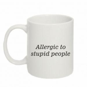 Kubek 330ml Allergik to stupid people