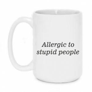 Kubek 450ml Allergik to stupid people
