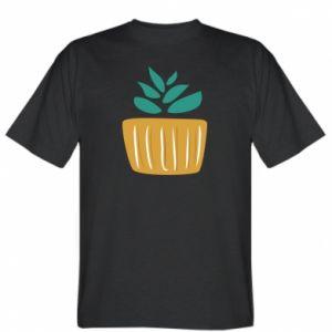 Koszulka męska Aloe in a pot