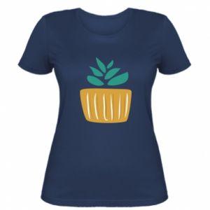 Koszulka damska Aloe in a pot