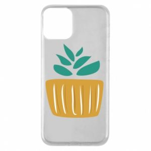 Etui na iPhone 11 Aloe in a pot
