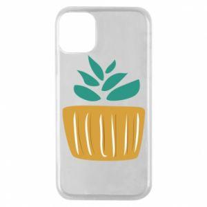 Etui na iPhone 11 Pro Aloe in a pot