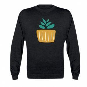 Bluza dziecięca Aloe in a pot