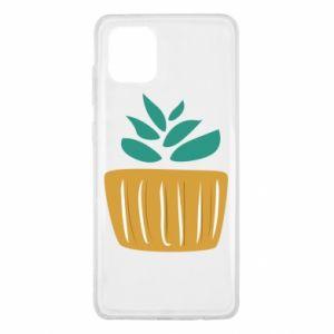 Etui na Samsung Note 10 Lite Aloe in a pot