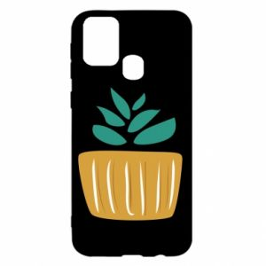 Etui na Samsung M31 Aloe in a pot