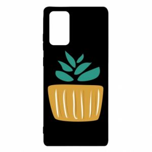 Etui na Samsung Note 20 Aloe in a pot