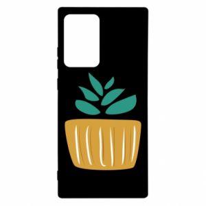 Etui na Samsung Note 20 Ultra Aloe in a pot