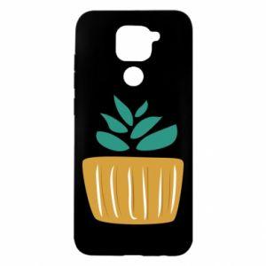 Etui na Xiaomi Redmi Note 9/Redmi 10X Aloe in a pot