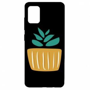 Etui na Samsung A51 Aloe in a pot
