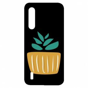 Etui na Xiaomi Mi9 Lite Aloe in a pot