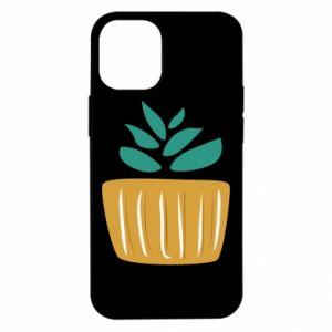 Etui na iPhone 12 Mini Aloe in a pot