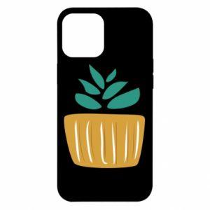 Etui na iPhone 12 Pro Max Aloe in a pot