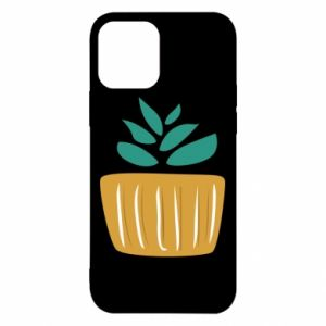 Etui na iPhone 12/12 Pro Aloe in a pot