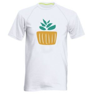 Koszulka sportowa męska Aloe in a pot