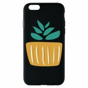 Etui na iPhone 6/6S Aloe in a pot