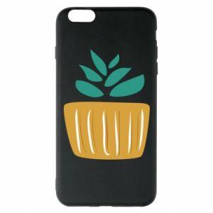 Etui na iPhone 6 Plus/6S Plus Aloe in a pot