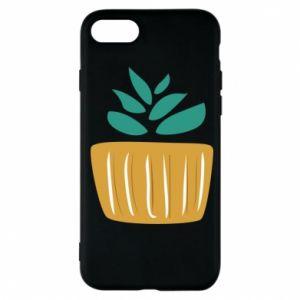 Etui na iPhone 7 Aloe in a pot