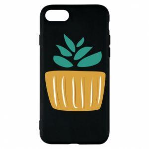 Etui na iPhone 8 Aloe in a pot