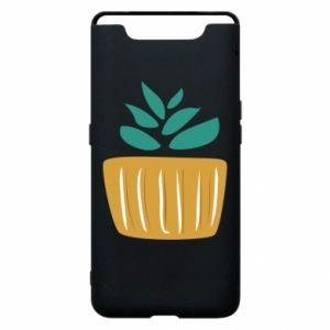 Etui na Samsung A80 Aloe in a pot