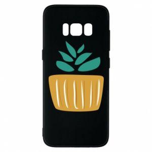 Etui na Samsung S8 Aloe in a pot