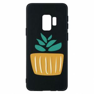 Etui na Samsung S9 Aloe in a pot