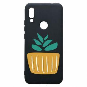 Etui na Xiaomi Redmi 7 Aloe in a pot