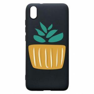 Etui na Xiaomi Redmi 7A Aloe in a pot