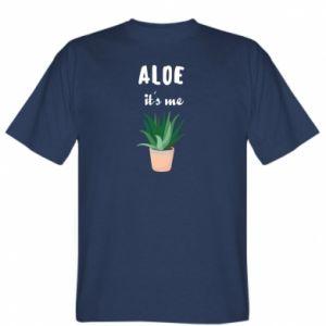 T-shirt Aloe it's me