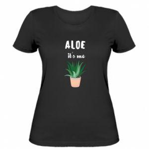 Women's t-shirt Aloe it's me