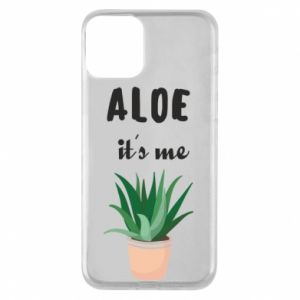 Phone case for iPhone 11 Aloe it's me